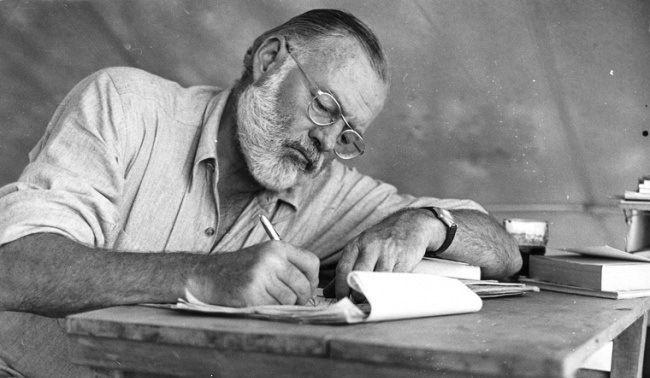 20 крутых афоризмов от Хемингуэя