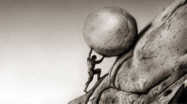 """Альбер Камю: """"Миф о Сизифе. Эссе об абсурде"""""""